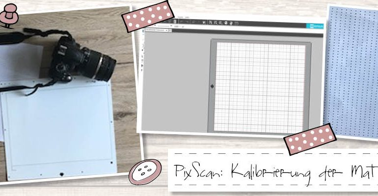 PixScan: Kalibrierung der Matte