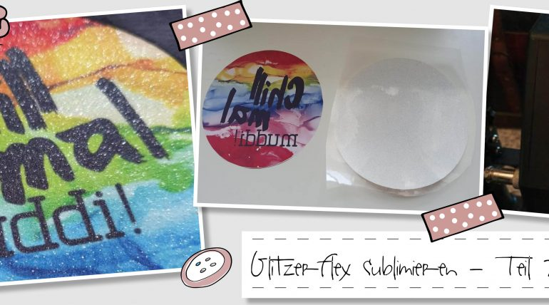 Glitzerflex sublimieren