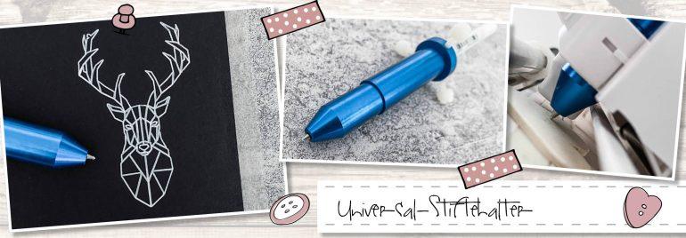 Schreiben & Zeichnen mit dem Universalstiftehalter für Silhouette
