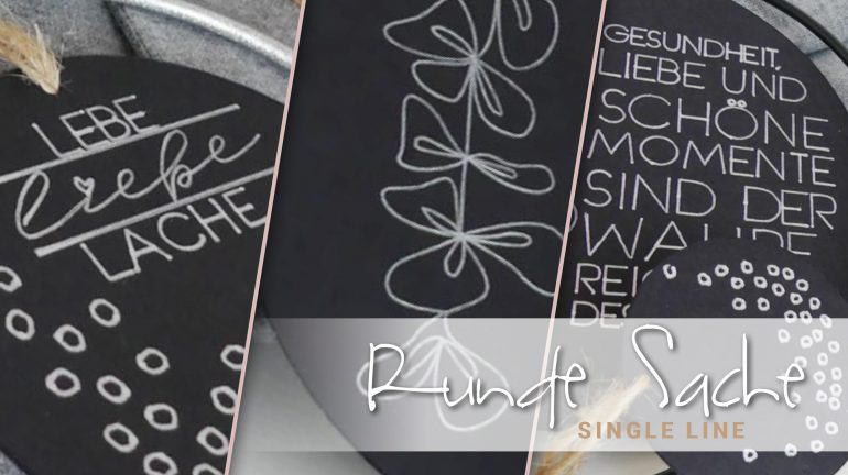 Runde Sache – Single Line