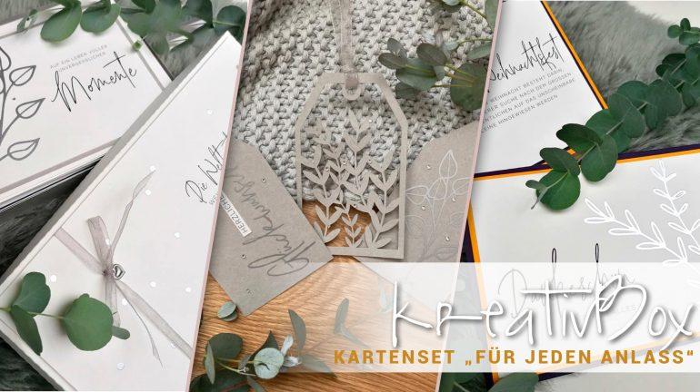 """kreativBox – Kartenset """"Für jeden Anlass"""""""