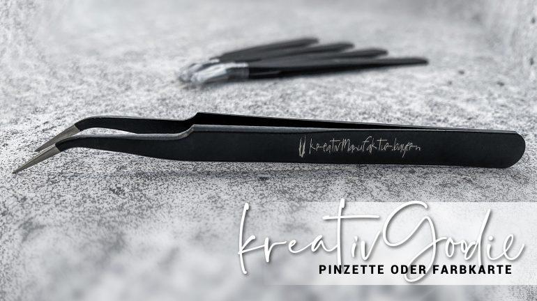 kreativGoodie – Pinzette