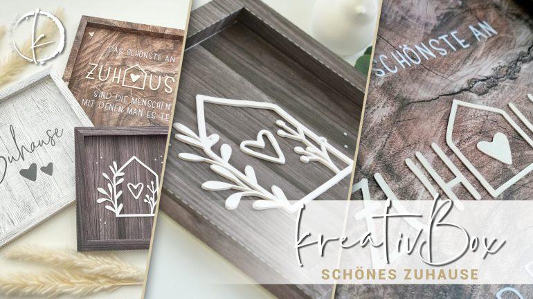 """kreativBox – """"Schönes Zuhause"""""""
