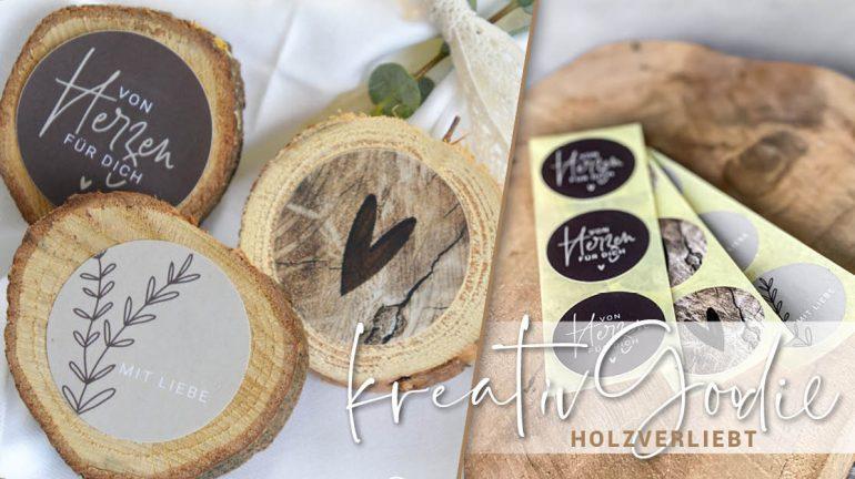 kreativGoodie – Holzverliebt